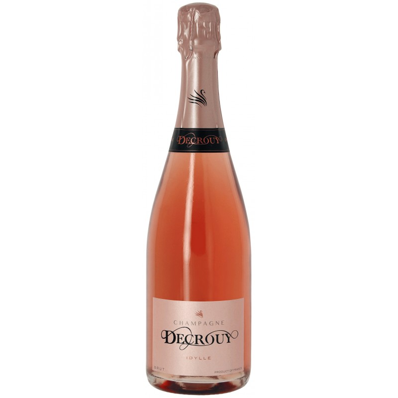 Champagne DECROUY rosé - cuvée Idylle