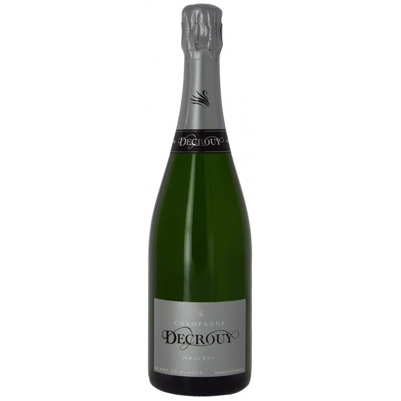 Champagne DECROUY brut - Cuvée Blanc de Blancs Majesty