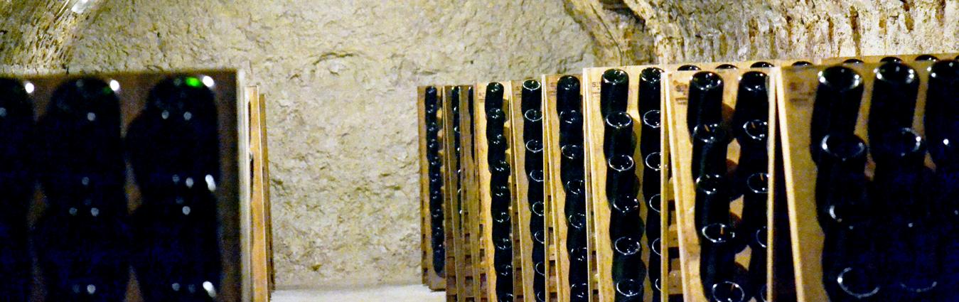 Cave pupitre Champagne Decrouy